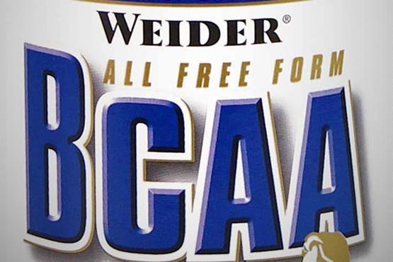 BCAA от Weider: схема и