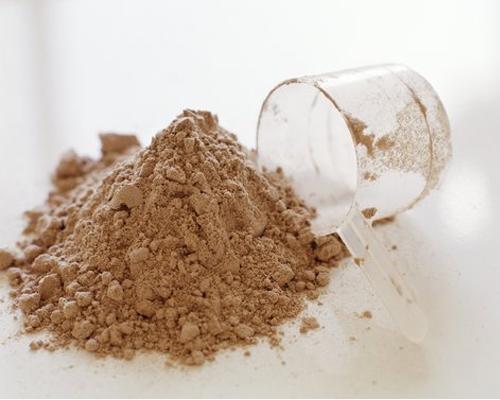 Порошковый протеин, помогающий набрать вес