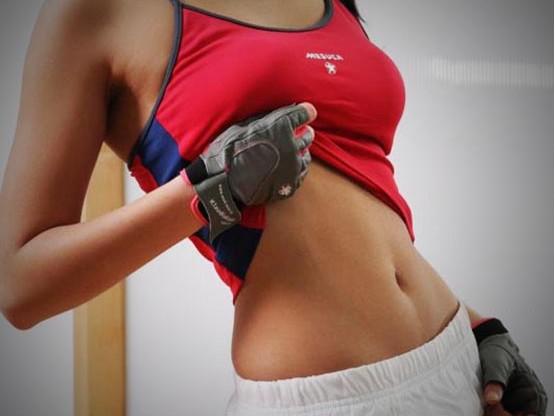 Лучшие упражнения на нижний пресс для девушек