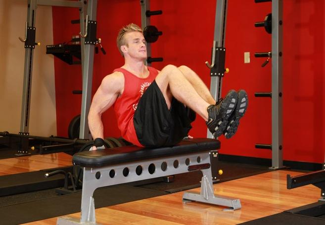 Упражнения на нижний пресс, популярные среди мужчин