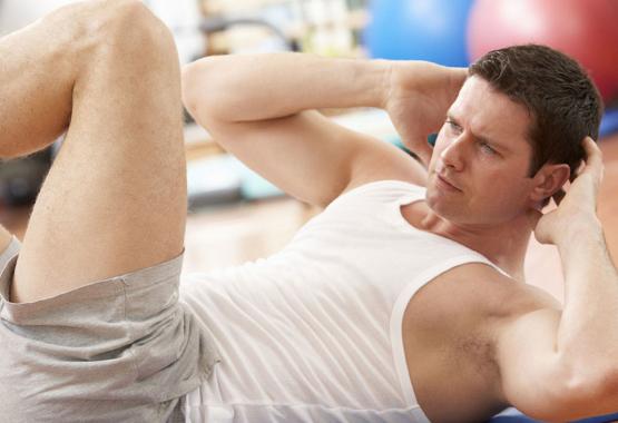 Упражнения на проработку боковых мышц живота