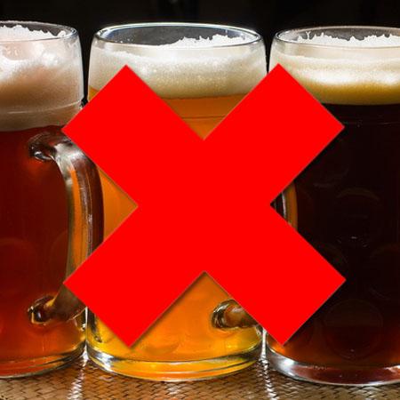 Отрицательный эффект алкоголя