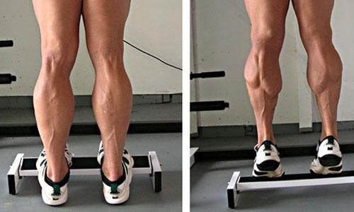 Упражнение подъем на носки