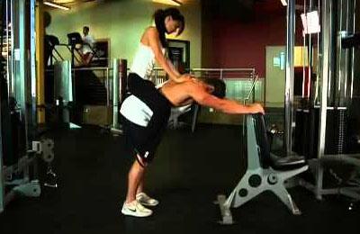 Упражнение Осел для накачки икроножных мышц
